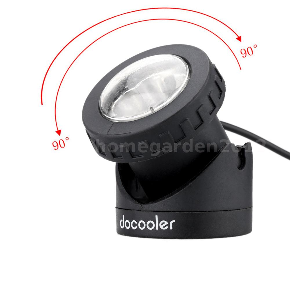 solar powered spotlight outdoor garden pool waterproof led spot light lamp ebay. Black Bedroom Furniture Sets. Home Design Ideas