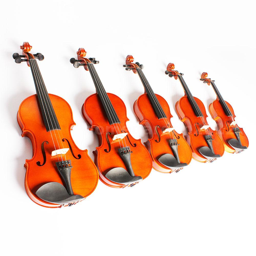 Toy Violins For 3 And Up : Full size acoustic violin with case bow for age above