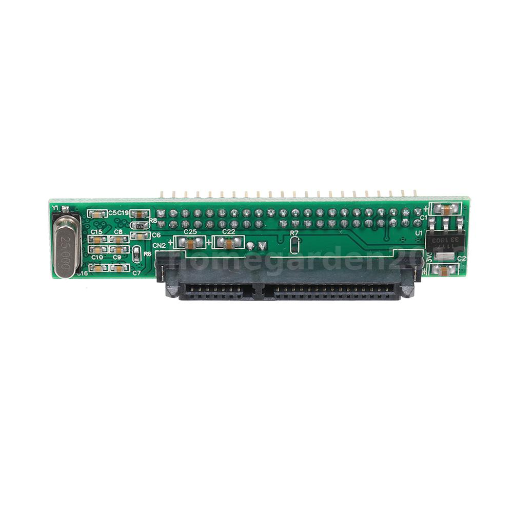 """44pin 2.5/"""" SATA to IDE HDD Drive SSD to Male SATA Adapter Converter Card K4A8"""