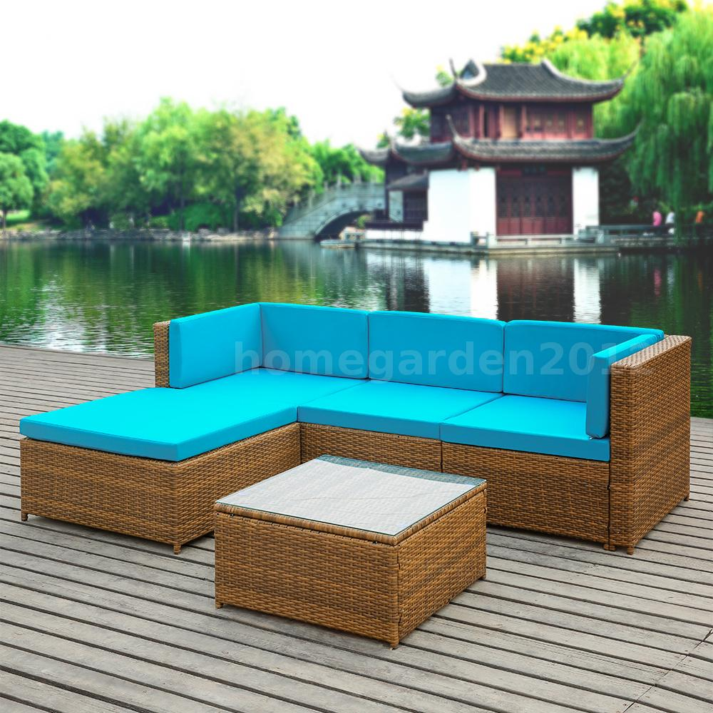 This Is A Fresh And Past Rattan Patio Sofa Table Set You Really Cannot Miss It Applies Thick Anti Rust Steels Pe Wicker Durable To Use