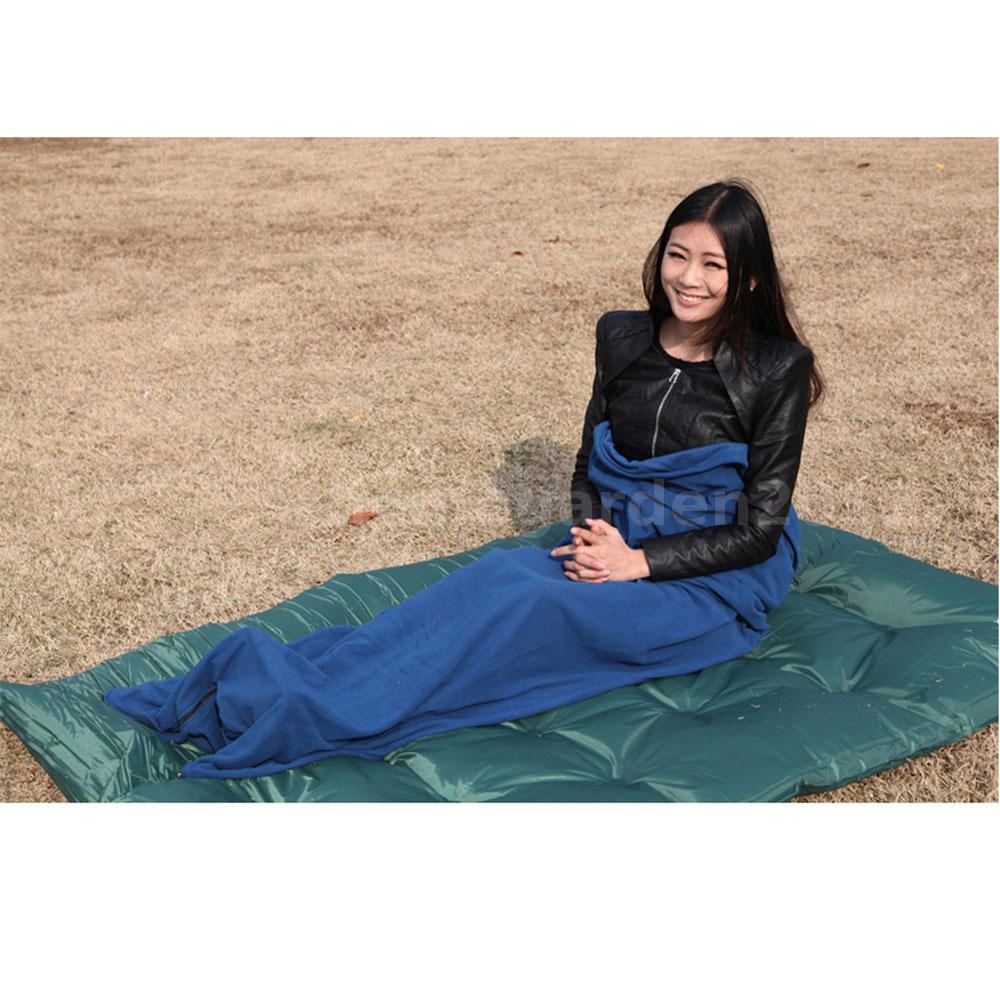 Outdoor Camping Polar Fleece Sleeping Bag Multi-use