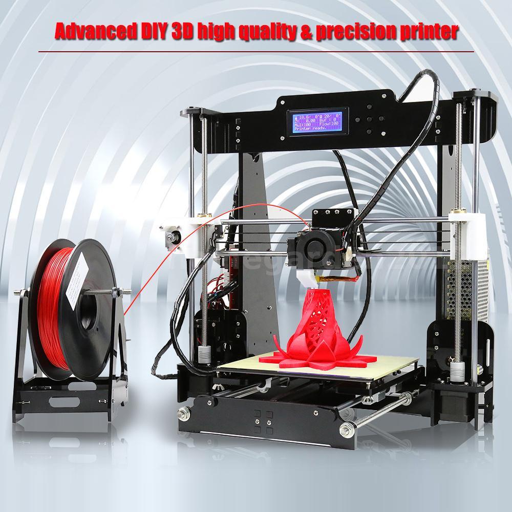 anet a8 3d printer upgradest high precision profi diy 3d drucker 220 220 240mm ebay. Black Bedroom Furniture Sets. Home Design Ideas