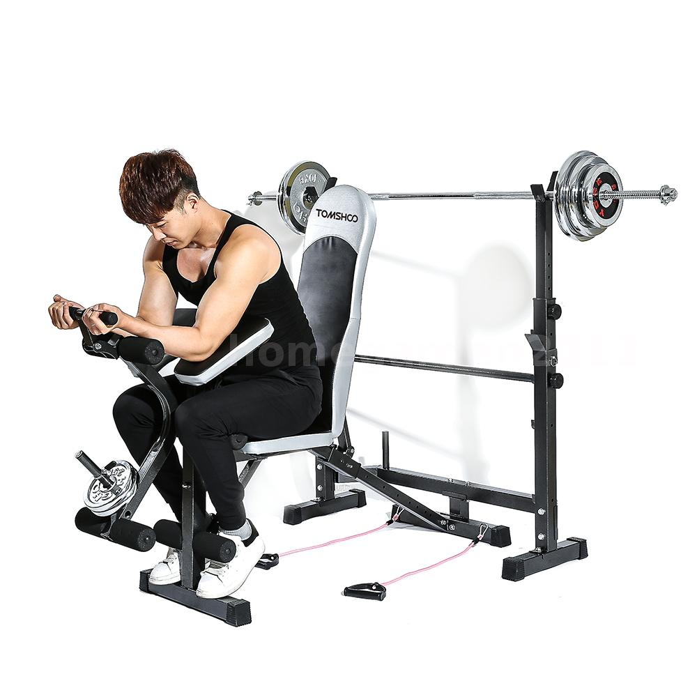 Dumbbell Exercises Without A Bench: Weight Lifting Flat Incline Bench Enhance Muscle Strength