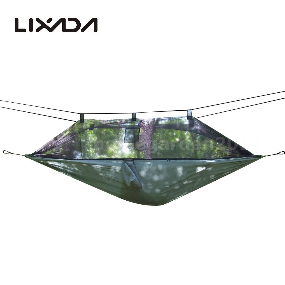 moskitonetz h ngematte compact leichte outdoor camping reisen hammock hot l9m6 ebay. Black Bedroom Furniture Sets. Home Design Ideas